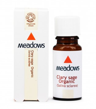 Organic Clary Sage Essential Oil (Meadows Aroma) 25ml