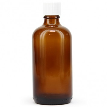 Amber Glass Tett Bottle with Dropper (Meadows Aroma) 100x100ml