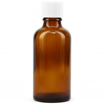 Amber Glass Tett Bottle with Dropper (Meadows Aroma) 10x50ml