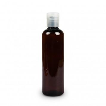 Amber Plastic Bottle (Meadows Aroma) 250ml