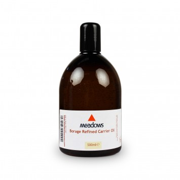 Borage Refined Carrier Oil (Meadows Aroma) 500ml