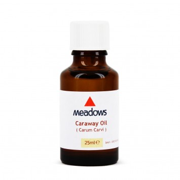 Caraway Essential Oil (Meadows Aroma) 25ml