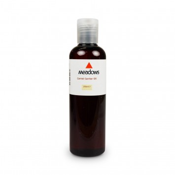 Carrot Carrier Oil (Meadows Aroma) 250ml