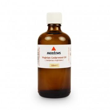 Cedarwood Virginian Essential Oil (Meadows Aroma) 100ml