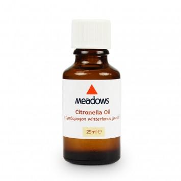 Citronella Essential Oil (Meadows Aroma) 25ml