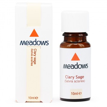 Clary Sage Essential Oil (Meadows Aroma) 10ml