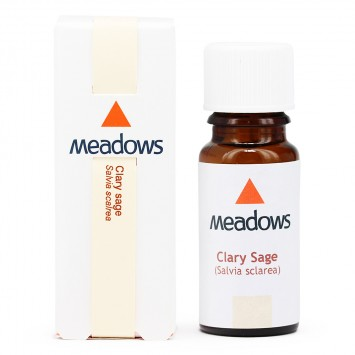 Clary Sage Essential Oil (Meadows Aroma) 25ml