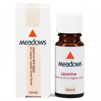 Jasmine Absolute Egypt & Organic Jojoba Dilute (Meadows Aroma) 10ml