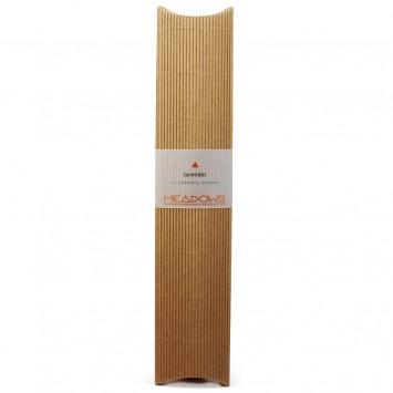 Lavender Natural Incense Agarbatti (Meadows Aroma) 20 Pack