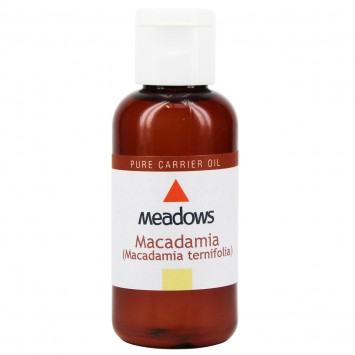 Macadamia Nut Cold Pressed Carrier Oil (Meadows Aroma) 1 Litre