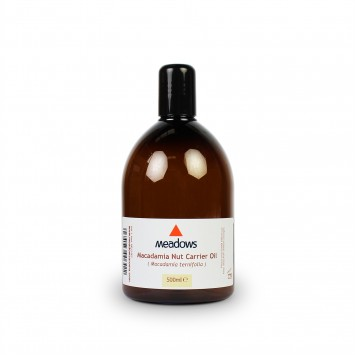 Macadamia Nut Cold Pressed Carrier Oil (Meadows Aroma) 500ml