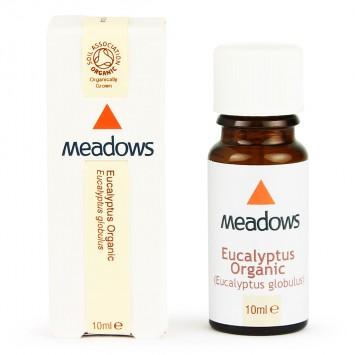 Organic Eucalyptus Globulus Essential Oil (Meadows Aroma) 10ml