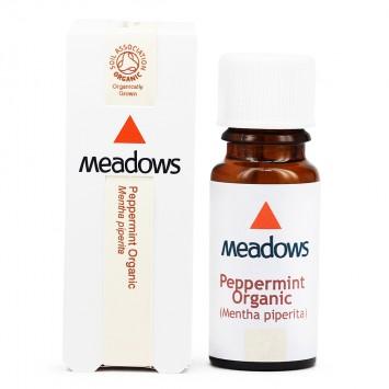 Organic Peppermint Essential Oil (Meadows Aroma)100ml