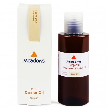 Organic Grapeseed Carrier Oil (Meadows Aroma) 100ml