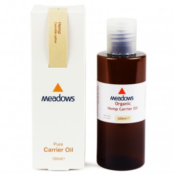 Organic Hemp Carrier Oil (Meadows Aroma) 100ml