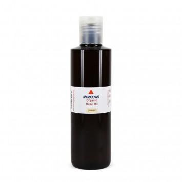 Organic Hemp Carrier Oil (Meadows Aroma) 250ml