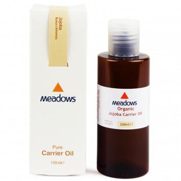 Organic Jojoba Carrier Oil (Meadows Aroma) 100ml