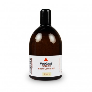Organic Neem Carrier Oil (Meadows Aroma) 500ml