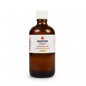 Organic Ravintsara Essential Oil (Meadows Aroma) 100ml