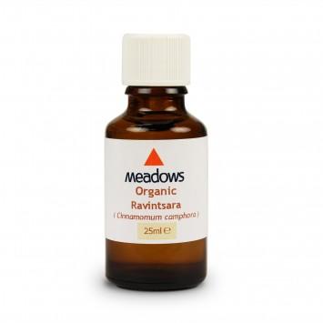 Organic Ravintsara Essential Oil (Meadows Aroma) 25ml