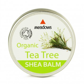 Organic Shea Balm - Tea Tree (Meadows Aroma) 50ml