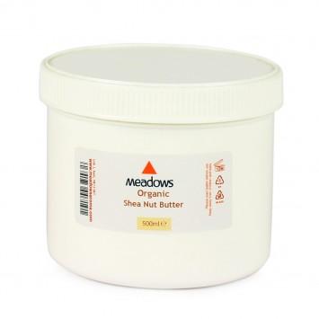 Organic Shea Nut Butter (Meadows Aroma) 500ml