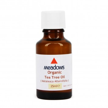 Organic Tea Tree Essential Oil (Meadows Aroma) 25ml