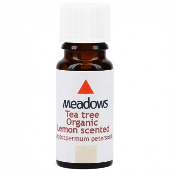 Organic Tea Tree & Lemon Essential Oil (Meadows Aroma) 50ml