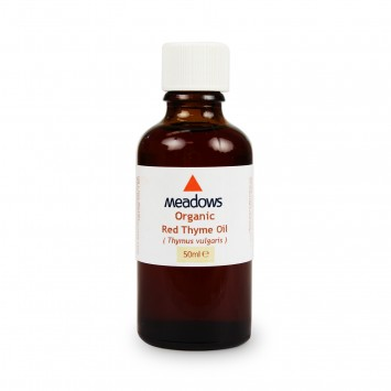 Organic Thyme Red Essential Oil (Meadows Aroma) 50ml