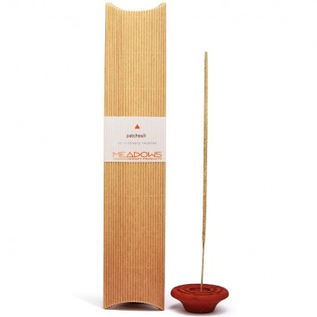Patchouli Natural Incense Agarbatti (Meadows Aroma) 20 Pack