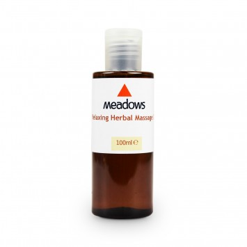 Relaxing Herbal Massage Oil (Meadows Aroma) 100ml