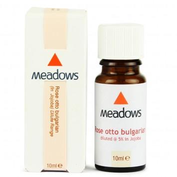 Rose Otto Bulgarian & Organic Jojoba Dilute (Meadows Aroma) 10ml