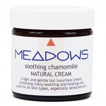 Soothing Chamomile Natural Cream (Meadows Aroma) 60ml