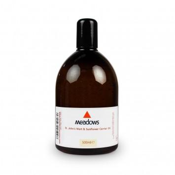 St. John's Wort & Sunflower Carrier Oil (Meadows Aroma) 500ml