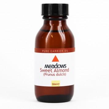 Sweet Almond Carrier Oil (Meadows Aroma) 50ml