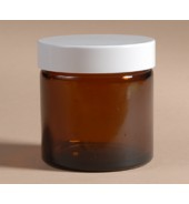 Amber Glass Jar (Meadows Aroma) 60ml