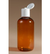Amber Plastic Bottle (Meadows Aroma) 250ml