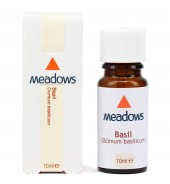 Basil (Methyl chavicol type) Essential Oil (Meadows Aroma) 10ml