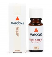 Black Pepper Essential Oil (Meadows Aroma) 10ml