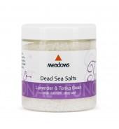Dead Sea Salts Lavender & Tonka (Meadows Aroma) 300g