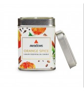 Orange Spice Essential Oil Candle (Meadows Aroma)