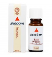 Organic Basil Essential Oil (Meadows Aroma) 10ml