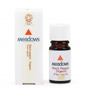 Organic Black Pepper Essential Oil (Meadows Aroma) 10ml
