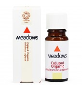 Organic Cajuput Essential Oil (Meadows Aroma) 25ml