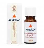 Organic Cedarwood Atlas Essential Oil (Meadows Aroma) 10ml