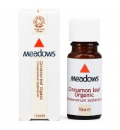Organic Cinnamon Leaf Essential Oil (Meadows Aroma) 10ml