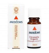 Organic Citronella Essential Oil (Meadows Aroma) 10ml