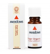Organic Ginger Essential Oil (Meadows Aroma) 10ml
