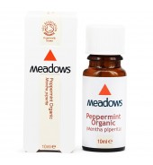 Organic Peppermint Essential Oil (Meadows Aroma) 10ml