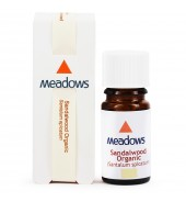 Organic Sandalwood Essential Oil (Meadows Aroma) 10ml